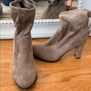 Stretch ankle booties